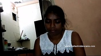 south indian college girl giving boyfriend hot blowjob.