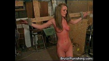 hard core bondage and brutal punishement