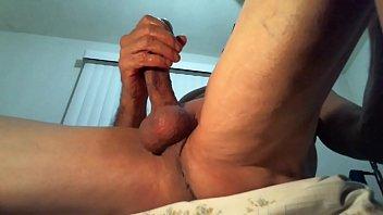 mature man in masturbation alone at home until.