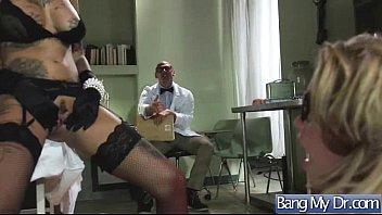 sex hardcore adventures between doctor and slut patient.