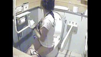 high school  girls filmed going to the bathroom