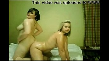 two horny oiled chubby teens getting crazy on cam