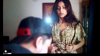 indian young actress radhika showing to.