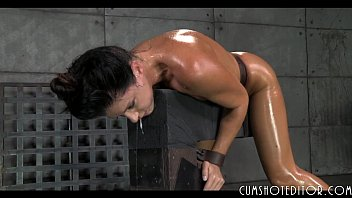 hot tied up slut destroyed