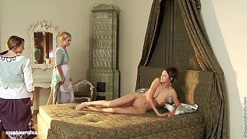 seduced maids sensual lesbian scene by.