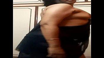 indian aunty dropping saree
