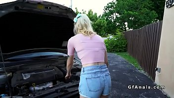 tattooed teen girlfriend anal banging
