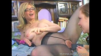 nina hartley with 1st time sexy brunette.