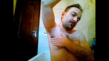 kocalos - washing my armpits, face and chest.