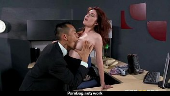 sexstar secretary analized in the office!.