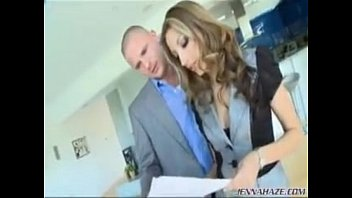 jenna haze makes him cum twice