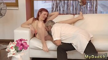 teasing old man and young couple hd first.