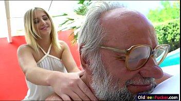 russian blonde hottie aria logan give a massage.