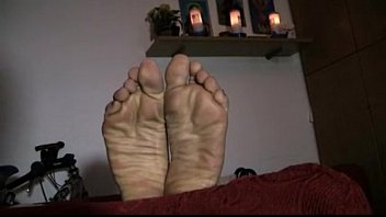 mature woman pretty feet soles from.