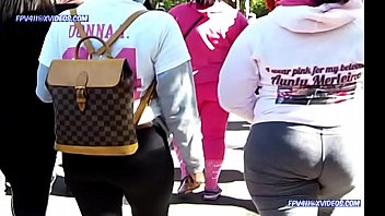 candid booty walking compilation 1