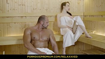 relaxxxed - busty russian babe angel rush banged.