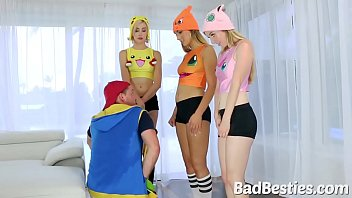 costumed teens dicked in pov
