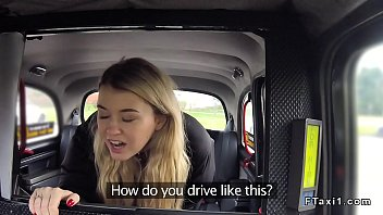 fake taxi driver bangs and cums.