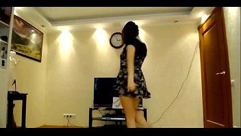 sexy arabian girl dancing with amazing.