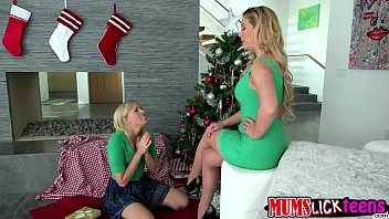 horny teen zoey monroe seduces her stepmum to.