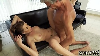 doggy and more sex with her boypal&acute_s father.