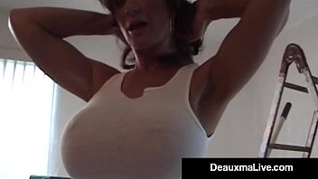 gorgeous wife deauxma takes it in all her.