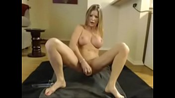 huge tits milf dp with big dildos till.