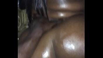bbw ebony taking backshots frm bbc