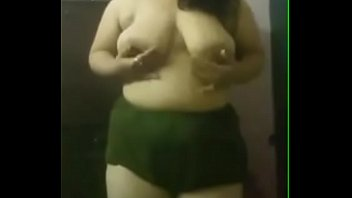 horny indian girl showing her boobs.