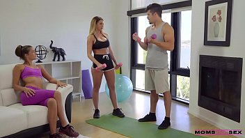 brooklyn chase tara ashley working out