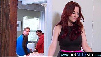 (jessica ryan) mature lady love huge cock in.