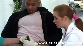 cfnm british nurses examine small dick