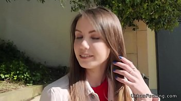 ukrainian beauty fucks outdoor pov