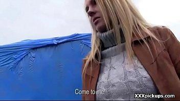 teen euro babe fucked in public by horny.
