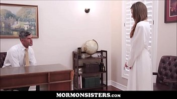 mormon girl elektra rose masturbates to orgasm while.