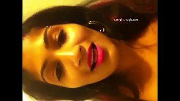 desi girl from camgirlsmagic.com with pierced nipples rubs.