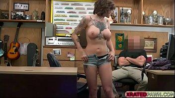 big tits tattooed babe harlow harrisong fucks in.