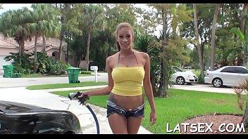 nasty latin chick maid