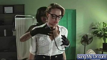 horny patient (bonnie mia) bang with doctor in.