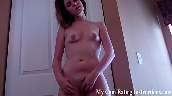 i will make you eat your cum until.