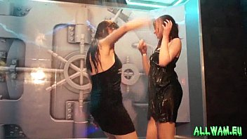 fully clothed wet dancing babes