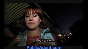 publicagent lucy gets my big cock in her.