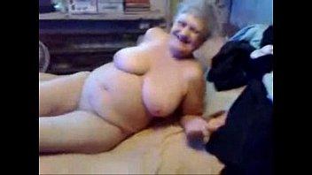 this horny granny is really a slut !.