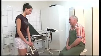 old doctor fucks the young patient