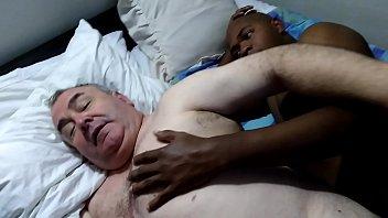 gordo amante de negros vergones