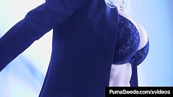 busty blonde bombshell puma swede dildo bangs her.