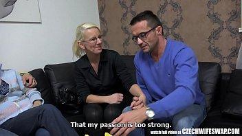 blonde wife cheating her husband