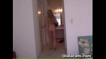 hot amateur teen girl with perfect body teasing.