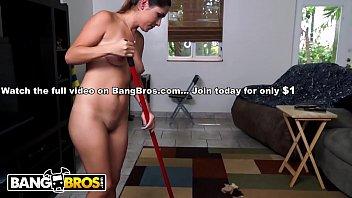 bangbros - shy latina maid camila casey strips.
