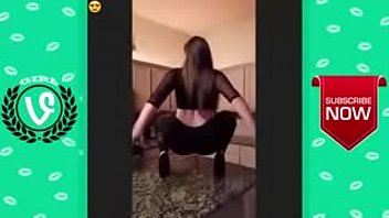 ultimate white girl twerking